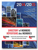 Construction Specifications Canada Directory of Members