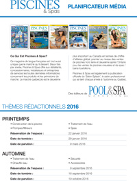 Pool & Spa Marketing Media Planner