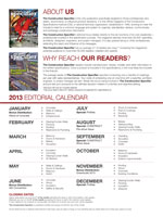Download the full 2013 Editorial Calendar