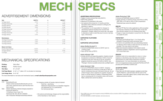Download the full 2014 Mechanical Specifications